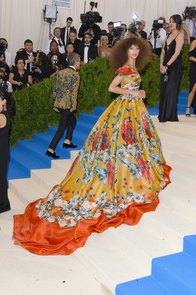 Zendaya Dolce & Gabbana Dress at the Met Gala 2017