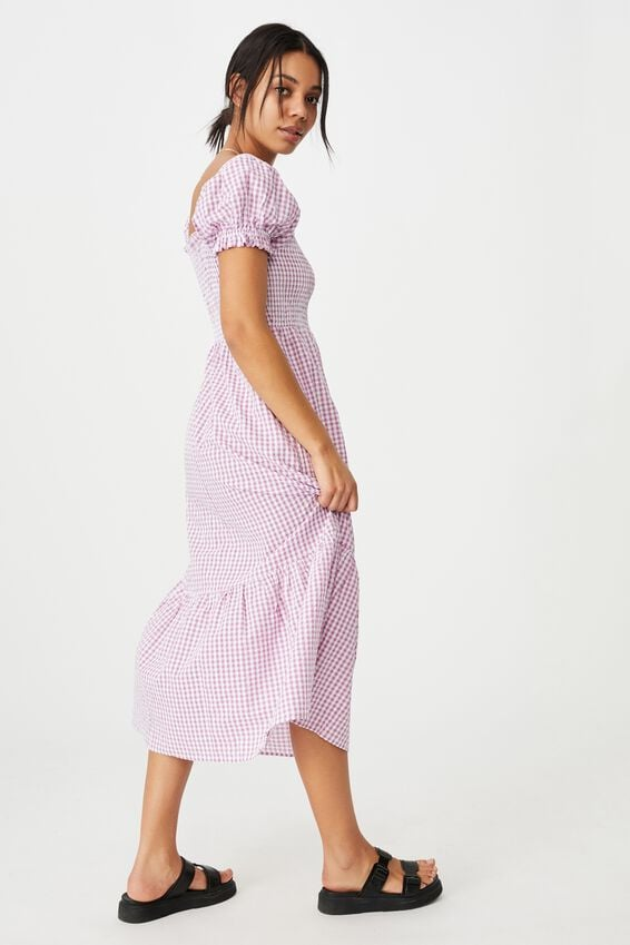 Cotton On Woven Louise Shirred Maxi Dress