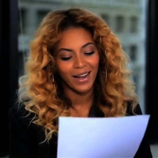 Beyonce Reads Letter to Michelle Obama (Video) | POPSUGAR ...