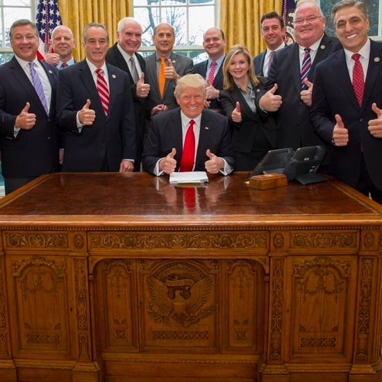 Trump Photo With White Men