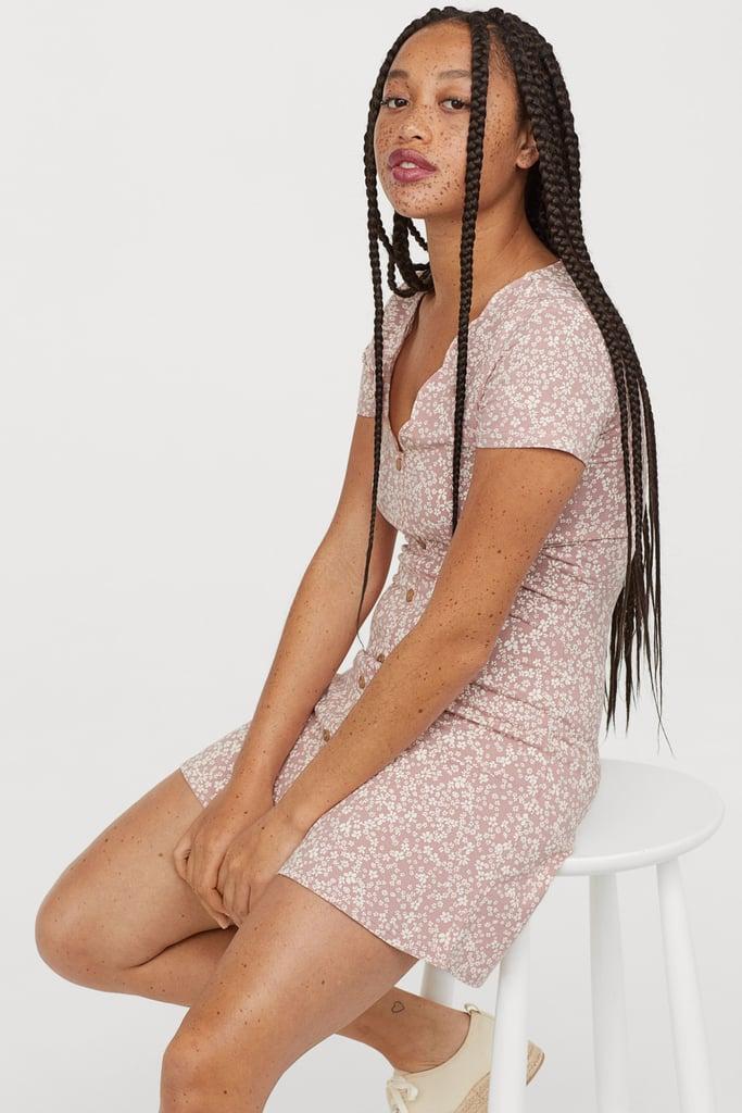 H&M Short Jersey Dress