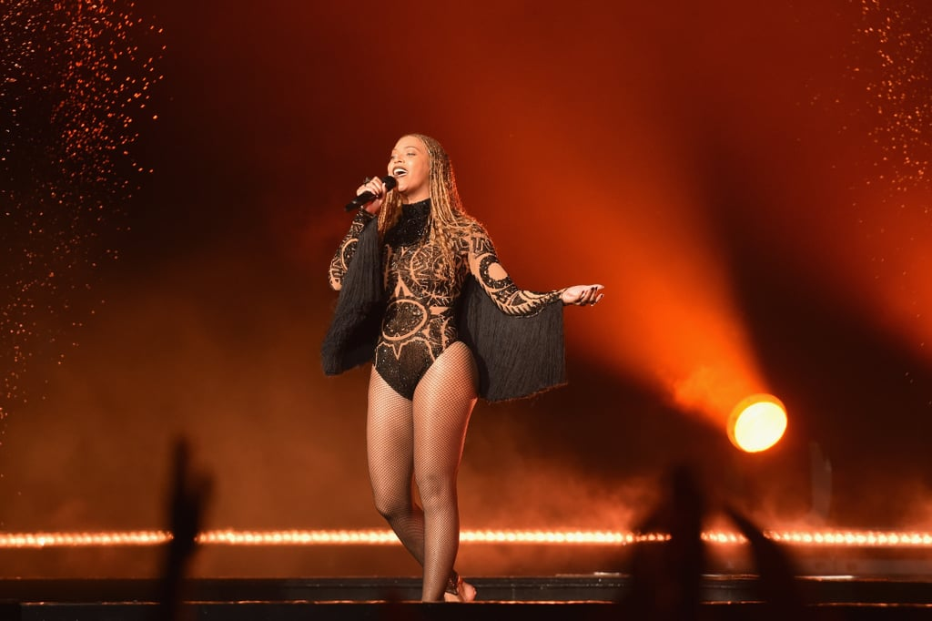 "Beyoncé hasn't attended the BET Awards since 2012, but she broke that streak on Sunday night when she showed up as a surprise (hey, she's all about surprises). Queen Bey opened the show with a flawless performance of ""Freedom,"" and had the crowd in hysterics as she and Kendrick Lamar kicked water at each other throughout the powerful song. While rumors floated for weeks that Beyoncé would show up — she's nominated for five awards and her protégés Chloe x Halle are performing — an appearance didn't seem too likely until her squad of dancers stomped the red carpet during the BET preshow and sent social media into a frenzy when they posed for photos while literally in formation."