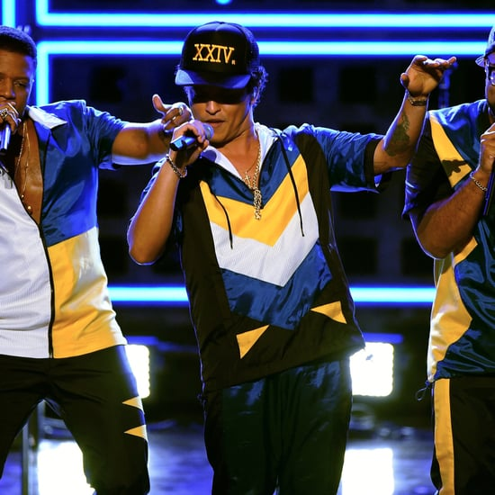 Bruno Mars American Music Awards Performance 2016