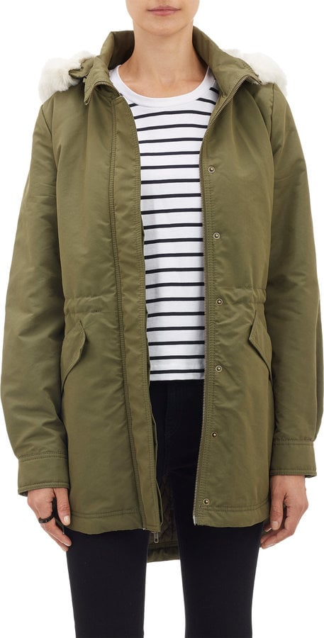 Barneys New York Hooded Anorak