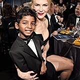 Pictured: Nicole Kidman and Sunny Pawar