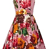 Oscar de la Renta for The Outnet floral silk-twill dress ($995)