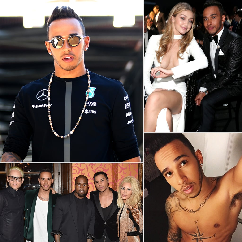 The Hottest Pictures of Lewis Hamilton