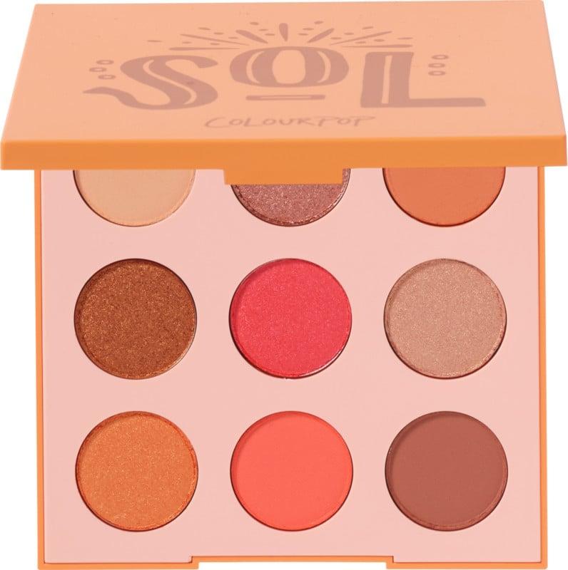 ColourPop Sol Pressed Powder Eyeshadow Palette
