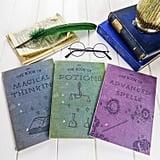 Harry Potter Spell Notebooks ($16)