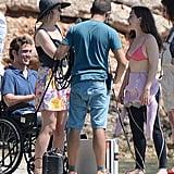 Emilia Clarke and Sam Claflin Film Me Before You June 2015