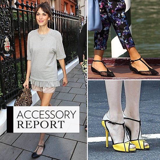 Investing In Street Appeal With Style: T-Strap Shoe Trend