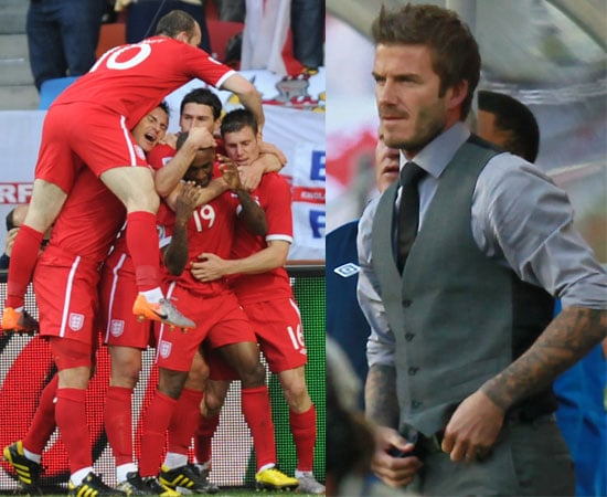 Pictures of England v Slovenia in World Cup