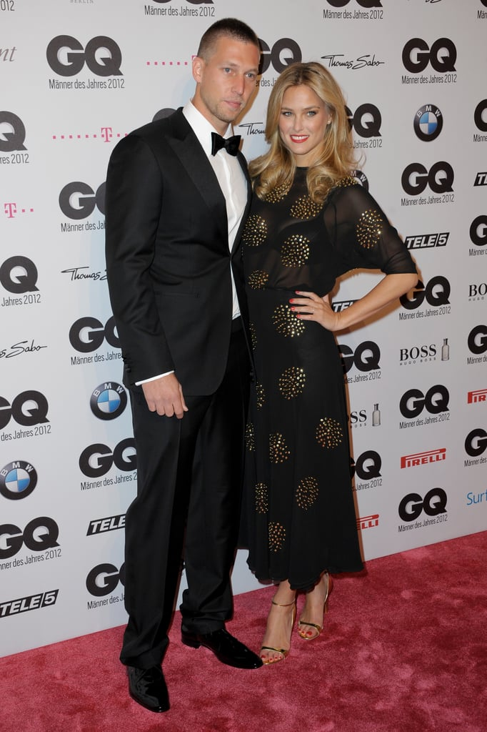 Bar Refaeli and her brother attended the GQ Men of the Year Awards.