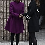 She Greeted NYC Mayor Bill de Blasio's wife, Chirlane McCray
