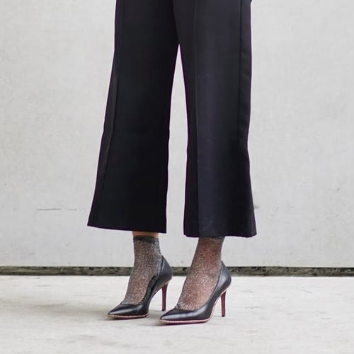 Trend to Try: Socks With Heels