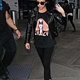 Paying homage to the fashion greats with a perfect tee and edgy separates.