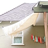 DIY Canvas Awning