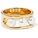 Chloé Swarovski Pearl Ring