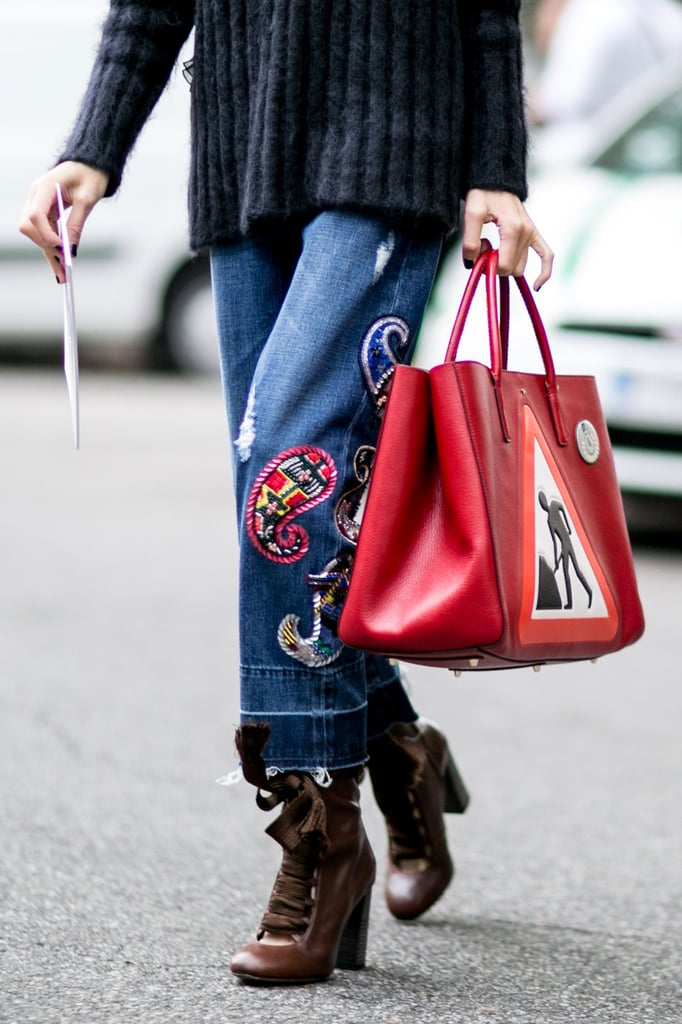 Best Street Style Shoes and Bags Fashion Week Spring 2016 ...