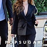 Selena Gomez Means Business in This Sexy Black Suit