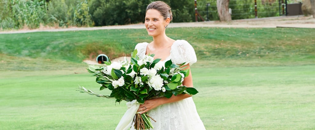 This Italian Model Floated Down the Aisle in a Cloud of a Wedding Dress You Have to See