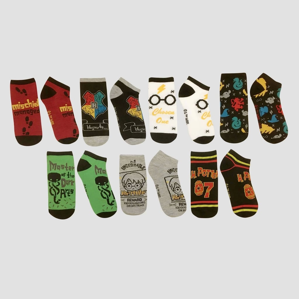 Short Socks Muggles Harry Potter Number 1 Fan Set of 3 Pairs Shoe Liners