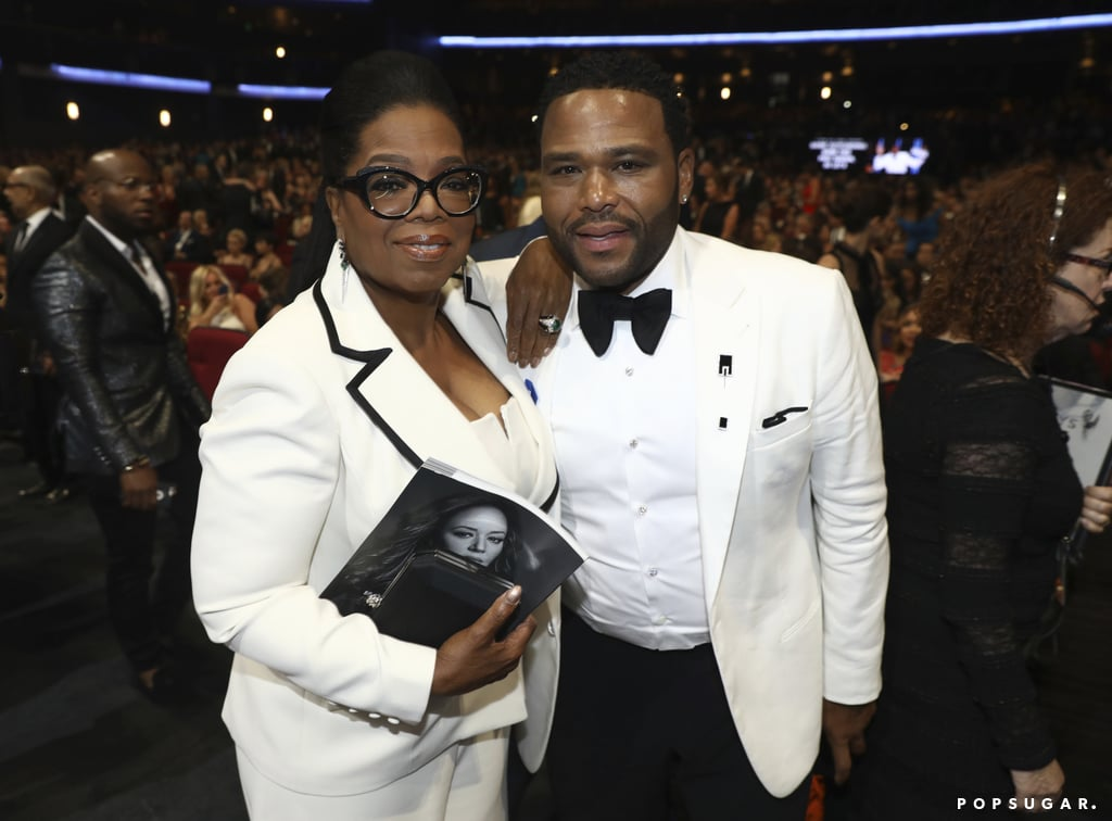 Oprah Winfrey and Anthony Anderson