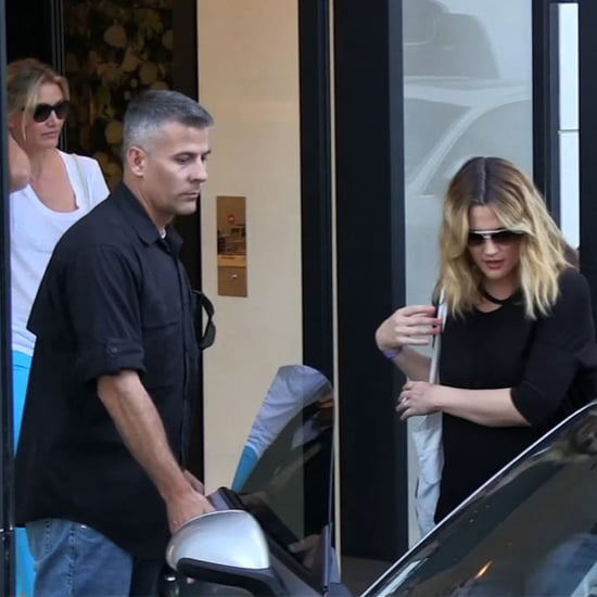 Drew Barrymore Wedding Dress Fitting With Cameron Diaz Video