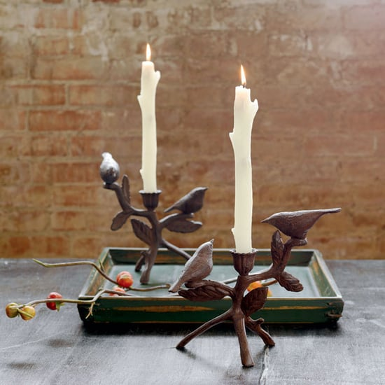 Steal of the Day: Perched Bird Candleholders