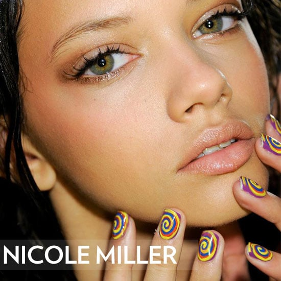 Nicole Miller Fall 2012 Hair and Look