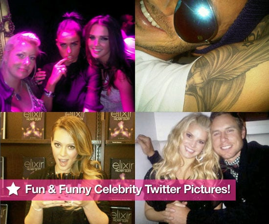 Fun and Funny Celebrity Twitter Pictures 2010-10-22 02:30:00