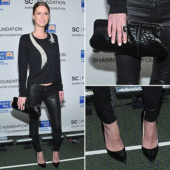 Nab Nicky Hilton's So Sexy Concert Style: Shop Her Star-Print Look via Shopstyle Australia