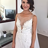 Simone on Her Married at First Sight Wedding Day