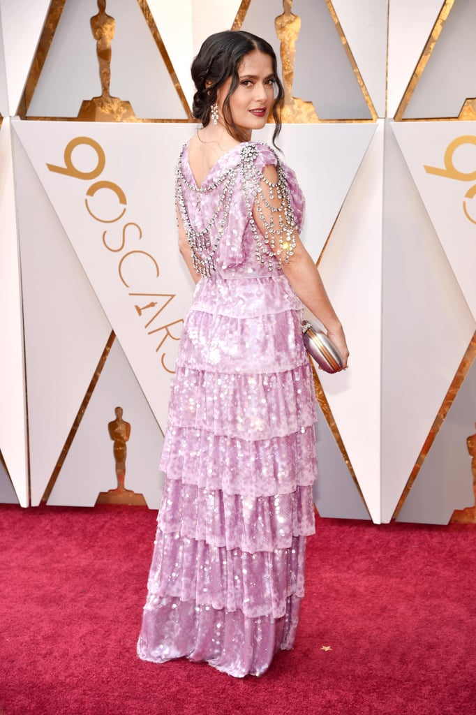 Back of Dresses at the Oscars 2018