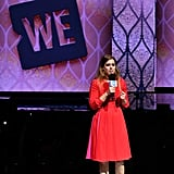 Princess Beatrice's Red Dress September 2018