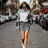Style It With a Sweater and White Boots