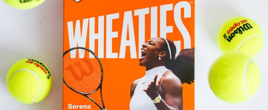 Serena Williams Wheaties Box
