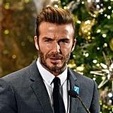 David Beckham Lights the Empire State Building Dec. 2016