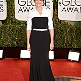 Julia Roberts showed up in a menswear-inspired look for the Golden Globes.