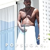 Idris Elba Shirtless Pictures in Ibiza June 2019