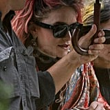 Pictures of Mary-Kate and Ashley Olsen With Punk Pink and Yellow Hair
