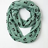 Cat Person Circle Scarf in Mint ($20)