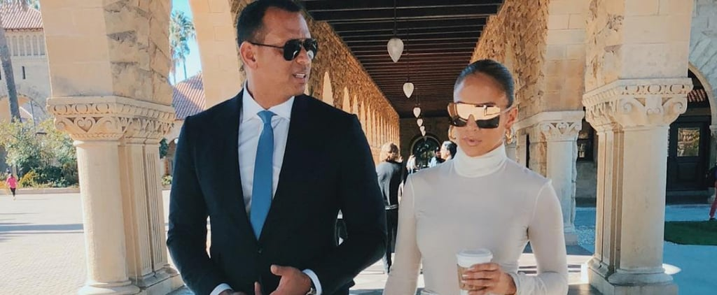 Jennifer Lopez and Alex Rodriguez Wearing Sunglasses 2018