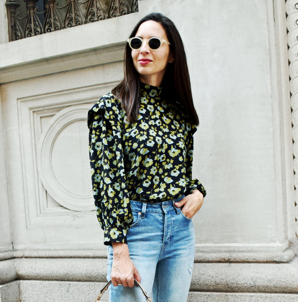 Easy Outfit Idea: Top and Jeans