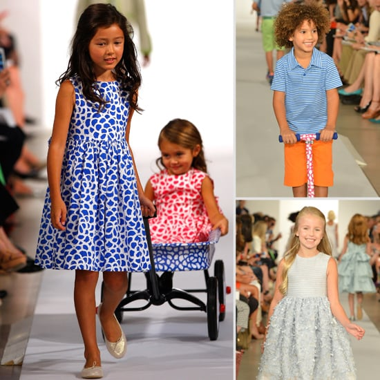 Oscar de la renta spring 2013 kids clothes popsugar moms for Oscar de la renta childhood