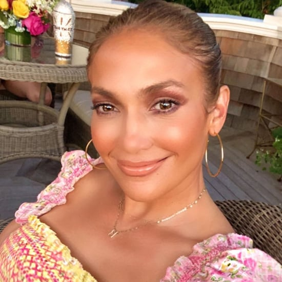 Jennifer Lopez Wears the LoveShackFancy Constantine Dress