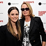 Rachel Bilson and Lisa Love hung out on Fashion's Night Out.
