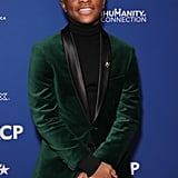Caleel Harris at the 2020 NAACP Image Awards Dinner