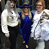 Victorian Ravenclaw, Cornish Pixie, and Hedwig