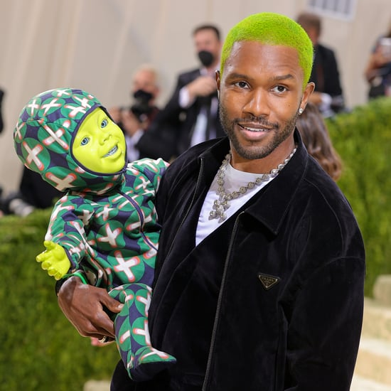 Frank Ocean and His Green Baby at the Met Gala 2021